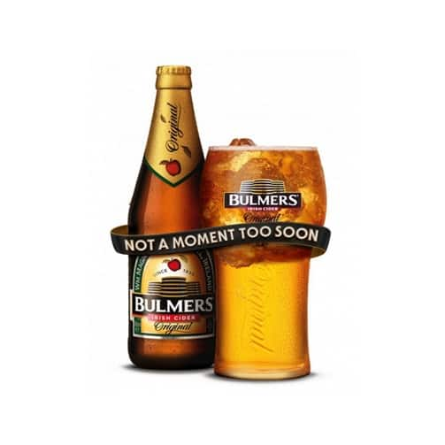 Bulmers Not a Moment Too Soon