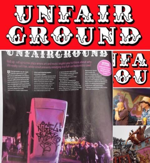 Unfairground Artists at Glastonbury