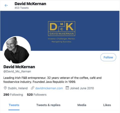 David McKernan Social Media Graphics